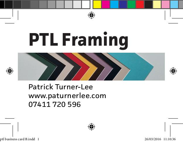 PTL FRAMING –paturnerlee@gmail.com – PATURNERLEE.COM